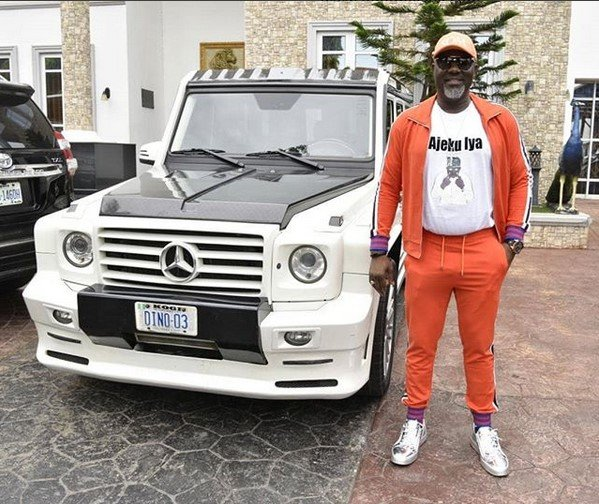 Senator Dino Melaye Poses With His Newly Acquired Mercedes G55 Mansory -