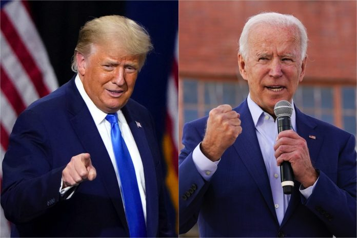 Just In: Biden Leads with 223 electoral votes, Trump has145