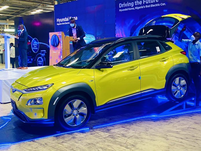 First Electric Car In Nigeria Launched In Lagos By Sanwo-Olu