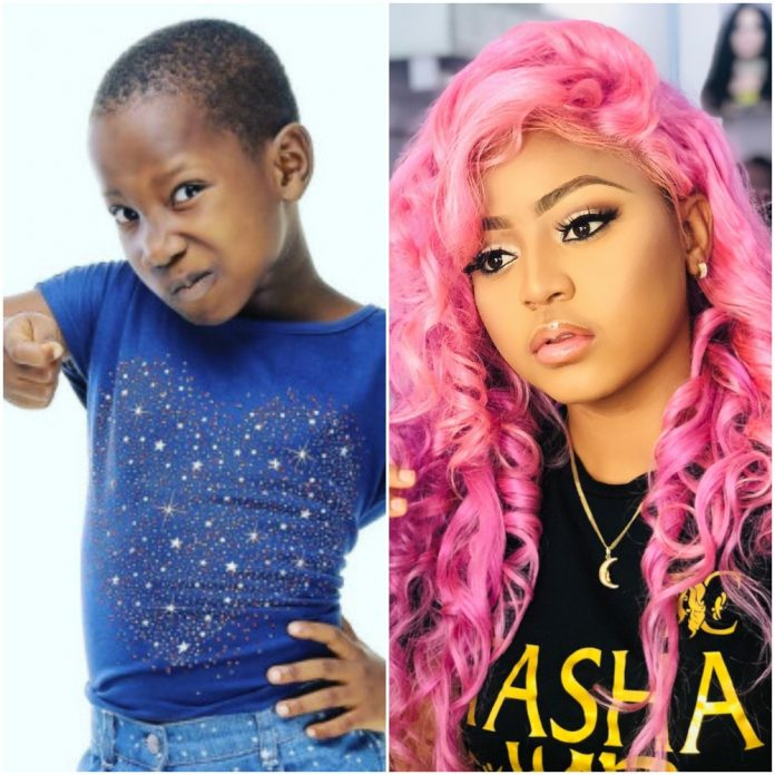 Fan Trolls Regina Daniels For Marrying A 'Grand Father' After 10-Year Old Emmanuella Built Her Mother A House