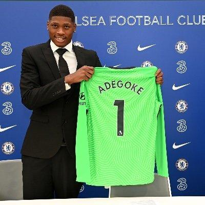 Adegoke: a Nigerian goalkeeper at Chelsea