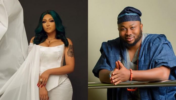 Tonto Dikeh's ex husband confirms cheating rumors with Nollywood actress, calls her Mrs Churchill