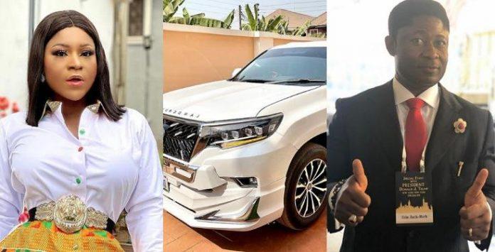 Actress Destiny Etiko Denies Receiving Her N32m Prado SUV From A Married Man (Video)