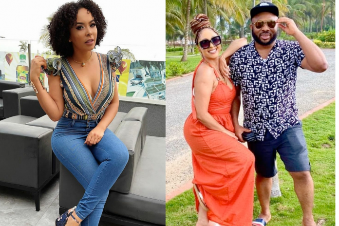 """We Don't Care, Focus On Your Marriage"" – TBoss' Sister Slams Rosy Meurer"