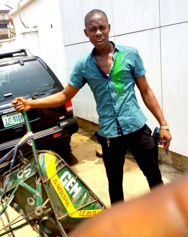 Man narrates how he became a millionaire with 'wheelbarrow' business