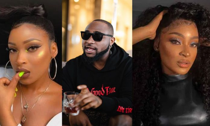 Davido's alleged 4th baby mama reveals son's face clearly
