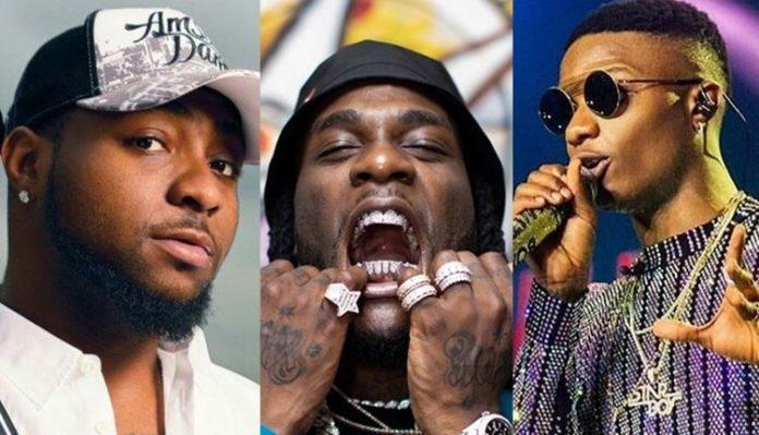 Davido Reacts To Burna Boy, Wizkid's Grammy Awards