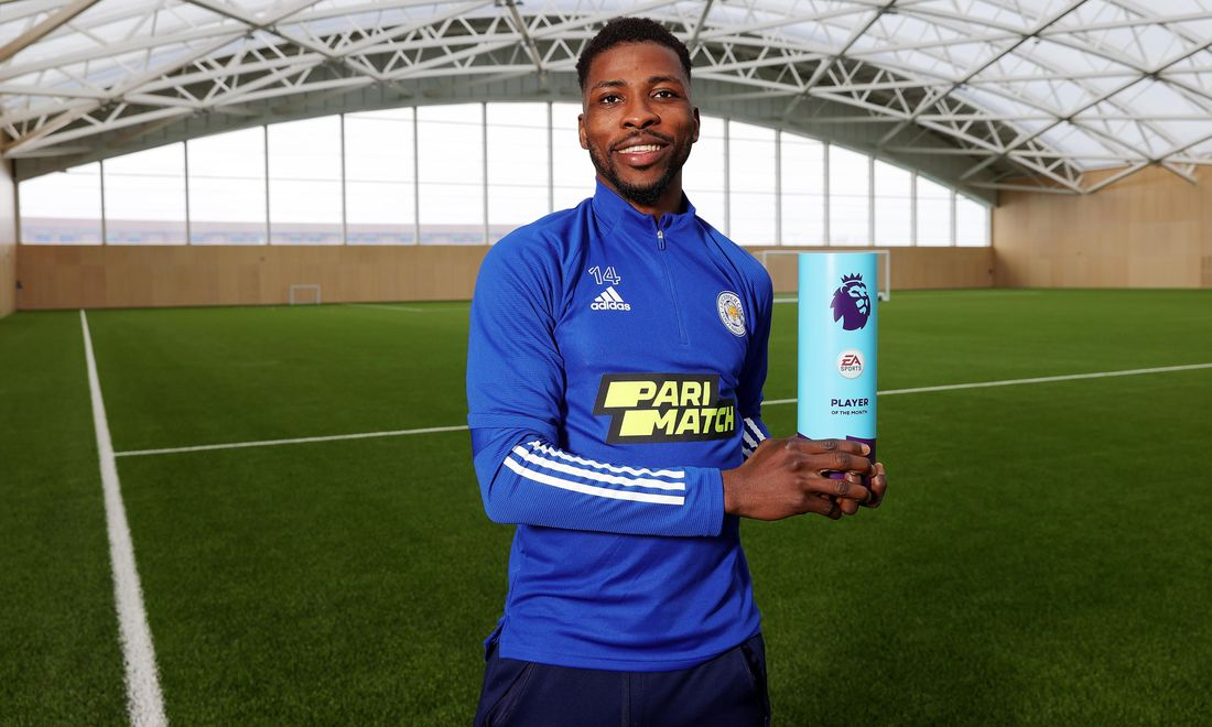 Iheanacho Named EA SPORTS Premier League Player Of The Month