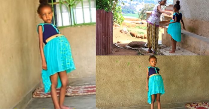 They Said I'm Pregnant At 6 – Little Girl Narrates Sad Story (Video)