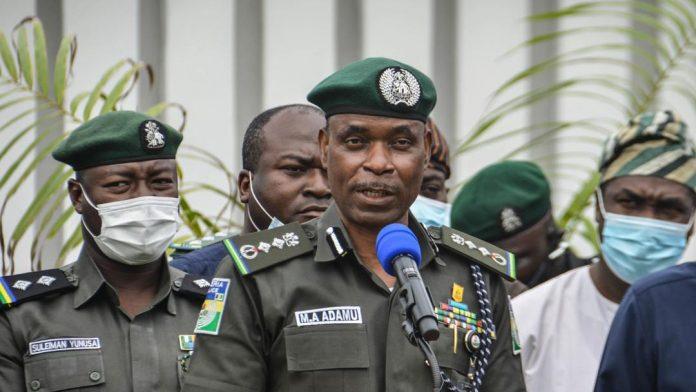 Inspector General of Police Muhammed Adamu