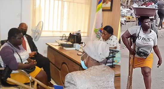 Lagos Detects Lies In Viral Amputee Hawker's claims, As Sanwo-Olu Handed Her Over To Social Welfare, Withholds N25m Donation