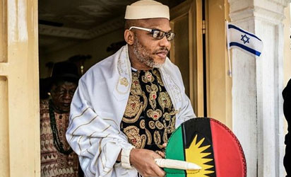Nnamdi Kanu: Federal Government Fails To Appear In Court, Case Adjourned