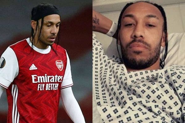Arsenal Captain Aubameyang Suffering From Malaria In Hospital