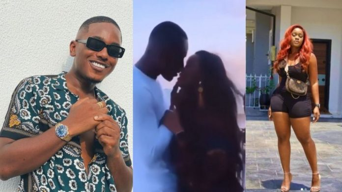 """""""We Don Cath Them, Nothing Them Wan Tell Us For This One"""" – Reactions As Timini Egbuson And Cee-C Are Spotted Kissing (Video)"""