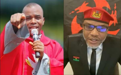 May God Bless Nnamdi Kanu Wherever He is — Father Mbaka (Video)