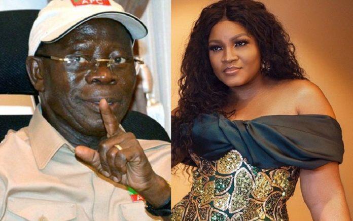 Nollywood Actress, Omotola Speaks On Rumoured Secret Affair With Oshiomhole