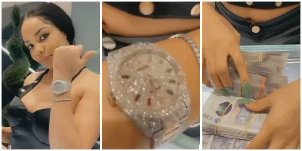 Where Una Dey See This Money? Reactions as Nengi Flaunts Diamond-Encrusted  Watch ▷ Legit.ng