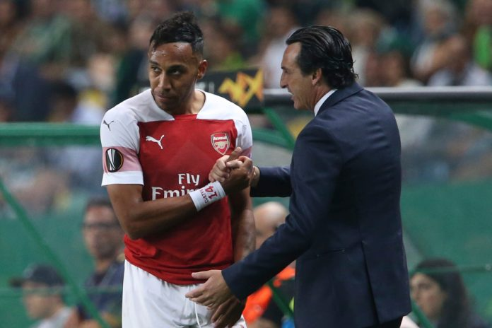 Unai Emery Calls Arsenal Striker Aubameyang A 'Killer' - See Why