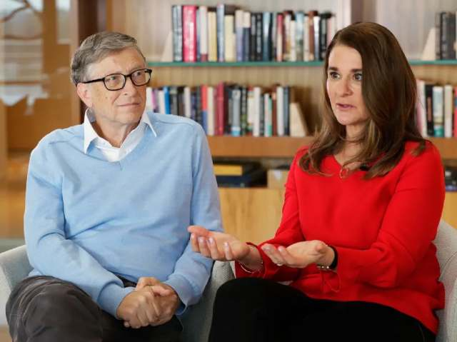 BREAKING: Microsoft Founder, Bill Gate And Wife Melinda Announce Divorce After 27 Years
