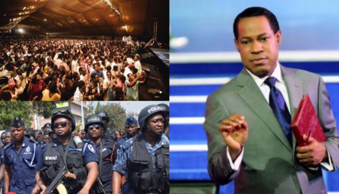 Christ Embassy Under Investigation For Holding A Crowded Event In Ghana