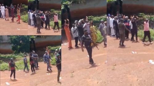 Police Invade Enugu Church, March Members Away Over Alleged IPOB Membership (VIDEO)