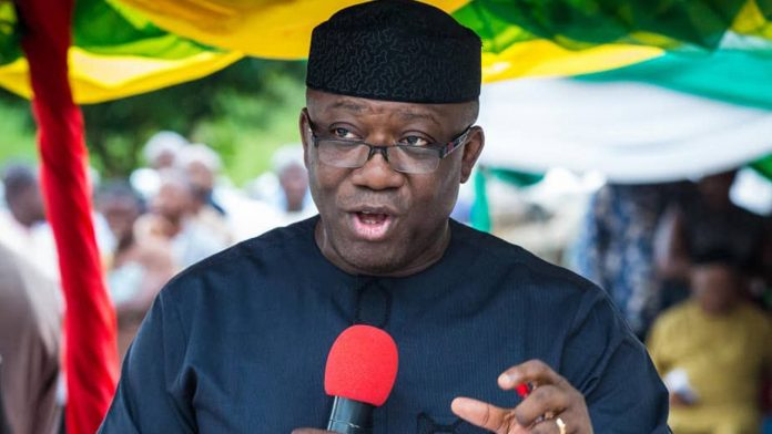Kick Out APC Instead Of Running To Canada – Fayemi Tells Nigerian Youths