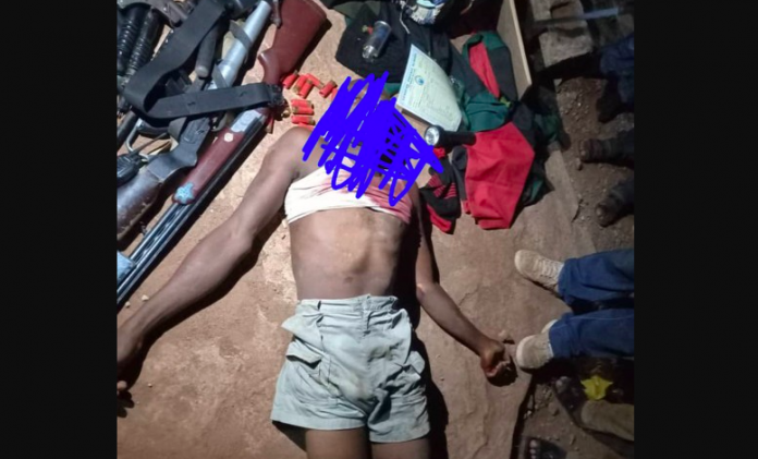 BREAKING: Deadly IPOB Member, 'Blood' Arrested Over Attack On 3 Police Stations