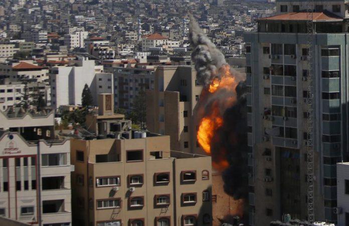 Israel Strike In Gaza Destroys Aljazeera, Associated Press Media Building (Video)