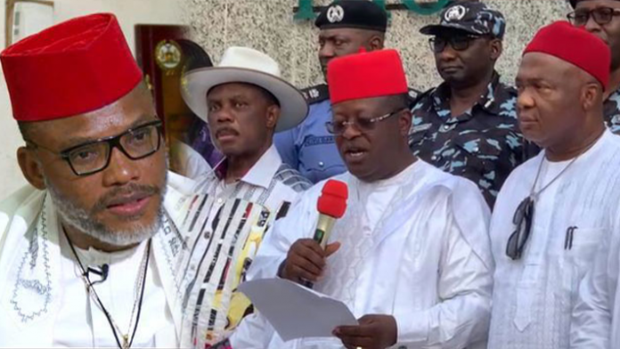 We Want United Nigeria, Not Biafra: South-East Governors
