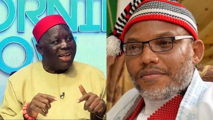 IPOB 'Threat in Lagos': Nnamdi Kanu, Ohanaeze Ndigbo Douse Tension
