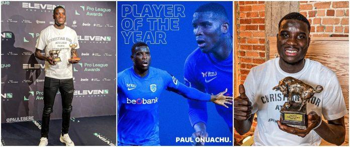 Nigerian Paul Onuachu Emerges Top scorer, Best Player In Belgium