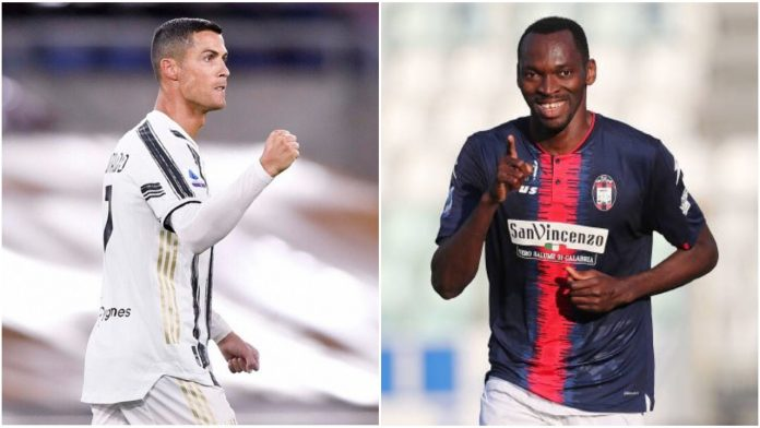 Serie A: Nigerian Striker Cries-Out After Ronaldo Refuses To Swap Shirt With Him