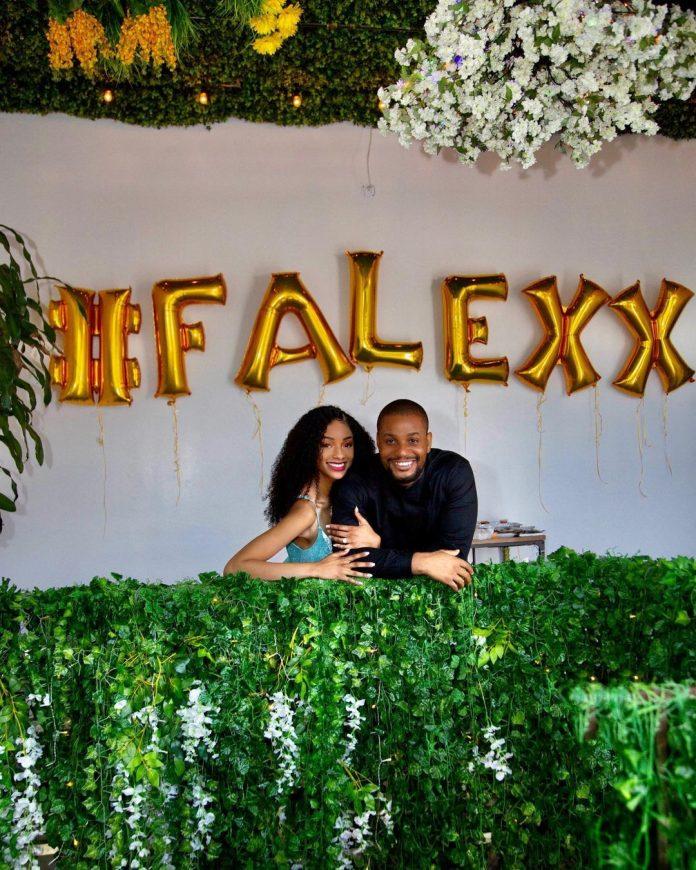 Actor, Alex Ekubo Gets Engaged To His Girlfriend, Fancy Acholonu