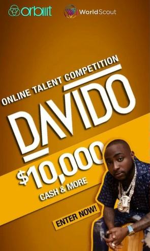 Singer Davido Announces His Talent Hunt Show, Winner To Get N4.8M (Video)