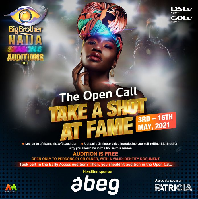 BBNaija: Big Brother Announces New Date For Season 6 Audition, Lists Criteria