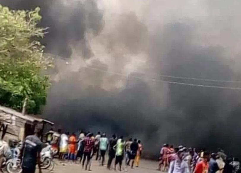 BREAKING: Two dead as explosion rocks Obasanjo's library in Abeokuta -  Nigerian News. Latest Nigeria News. Your online Nigerian Newspaper.