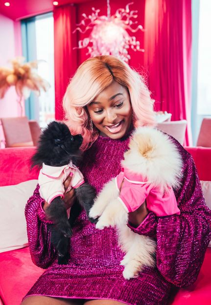DJ Cuppy Reveals Why People Are Sending Their Account Details To Her Dogs