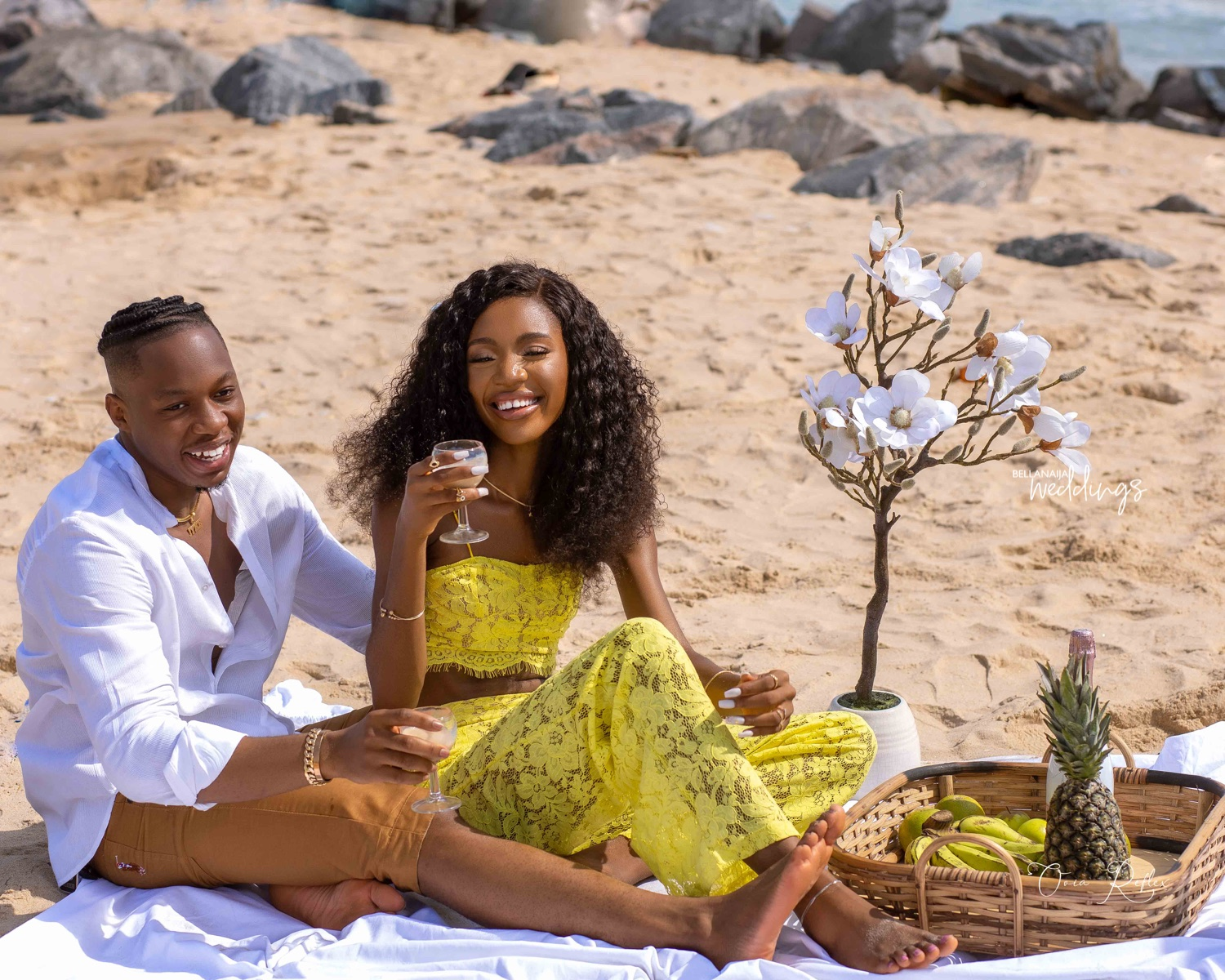 Moment Ultimate Love Couple, Iyke And Theresa Got Engaged (Video)