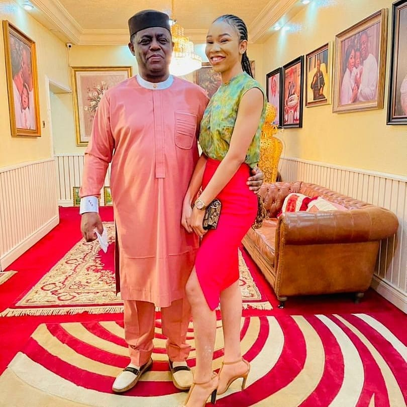 Femi Fani-Kayode Finds Love Again, Meet His New Girlfriend, Chika Nerita