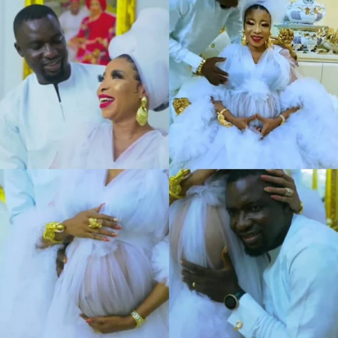 Actress Lizzy Anjorin and husband welcome their first child ( video)