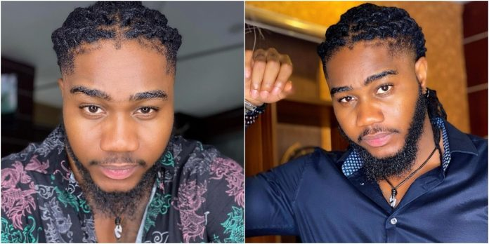 BBNaija's Praise Allegedly Caught Having Affair With Fiancee's Friend, Pleads For Reconciliation