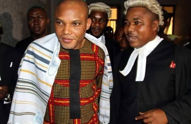 BREAKING: Soldiers, Police Attack Nnamdi Kanu's Lawyer Ifeanyi Ejiofor In Anambra