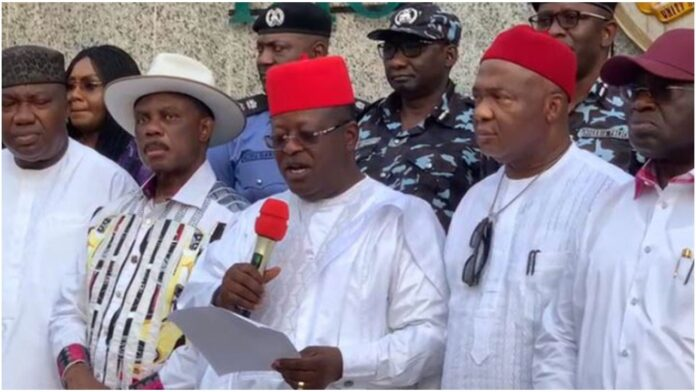 We Are Not Silent About IPOB Threats – South East Governors Claims