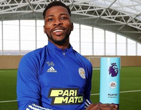 EPL: Iheanacho wins EPL Player Of The Month award