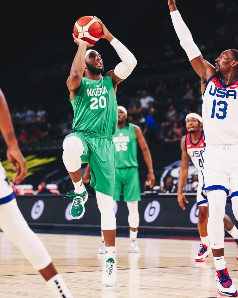 Nigeria Men's Basketball Team Beats US Team, US First Ever Loss To An African Nation (Photos)