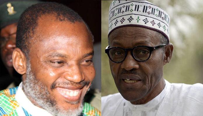 IPOB Threatens Buhari, Gives FG Deadline To Release Nnamdi Kanu
