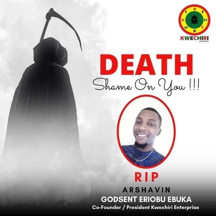 Unknown Gunmen Kill Secretary Of Anambra Independent Football League, Ebuka Eriobu