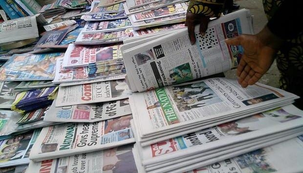 Newspaper Headlines: Top News In Nigeria Today Monday 25th October 2021