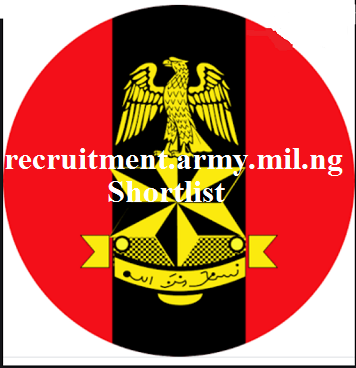 2021 Recruitment: Nigerian Army Lists Successful Candidates