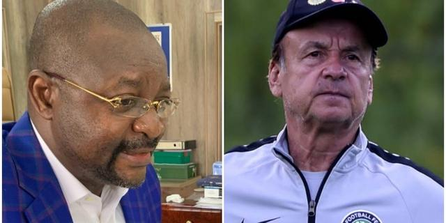 Shut Up And Do Your Work, Minister of Sports Tells Super Eagles Coach, Gernot Rohr